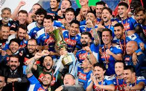 Napoli Juve, la premiazione della finale di Coppa Italia 2020
