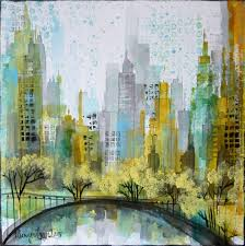 saatchi art artist irina rumyantseva painting new york abstract 3 art