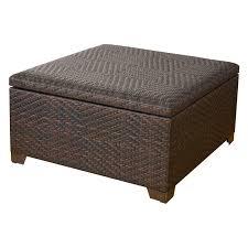 wicker coffee table with storage lovely wicker storage ottoman coffee table table ideas