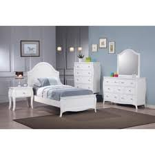 country white bedroom furniture. Dominique French Country White 5-piece Bedroom Set Furniture