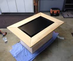 Instructables Coffee Table Lcd Coffee Table 6 Steps With Pictures
