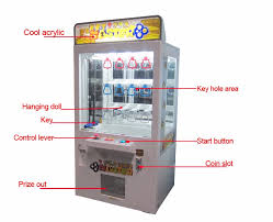 Key Master Vending Machine Game Extraordinary Qingfeng Key Master Arcade Game Coin Drop Prize Vending Machine