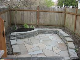 loose flagstone patio. Contemporary Flagstone Patio With Retaining Wall Loose