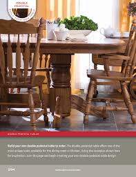 build your own wood furniture. Custom Built Amish Crafted Style Your Own Double Pedestal Table: Choose Size, Build Wood Furniture O