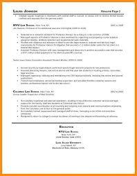 sample resume for law school 10 11 sample resume for secretaries jadegardenwi com