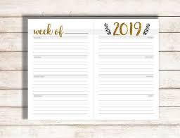 Schedule Calender Editable Weekly Calendar Weekly Calendar Printable Editable Calendar 2019 Editable Calendar Weekly Schedule 2019 Printable