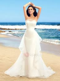 mermaid wedding dresses with ruffles. dazzling strapless ruffles tulle ivory mermaid wedding dress : tidebuy.com dresses with a