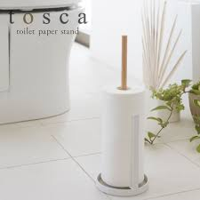 toilet roll holder wooden toilet paper storage hanger for tosca tosca white 02346 rcp