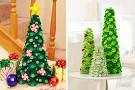 Поделки новогодних елок