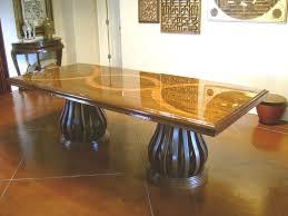 dining room table glass inlay. custom made mahogany dining table with teak inlay room glass a