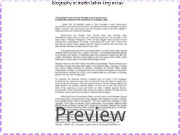 martin luther essay biography of martin luther king essay essay help