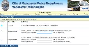 Vancouver Police Reopen Non Emergency Online Crime Reporting