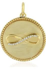 diamond circle necklaces for women