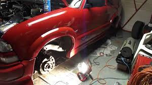 2001 Chevy Blazer Extreme, Brake Repair Process Part 2 - YouTube