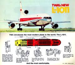 Twa Airlines New L 1011 Aircraft Drawings And Art