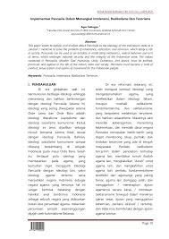 Studi tentang kebijakan universitas islam negeri sunan ampel surabaya dalam mencegah perkembangan paham radikal di kalangan mahasiswa. Https Jurnal Stkippgritulungagung Ac Id Index Php Rontal Article Download 1509 10 24
