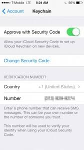 Icloud Security Code How To Set Up And Use Icloud Keychain On Ios 7 148apps