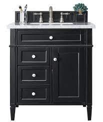 30 Brittany Black Onyx Single Sink Bathroom Vanity