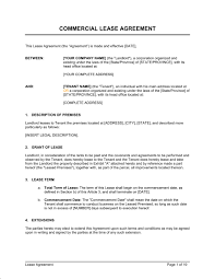 for lease sign template commercial lease agreement template sample form biztree com