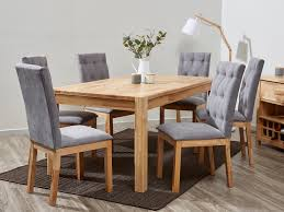 grey fabric dining chairs contemporary upholstered modern b2c inside grey fabric dining room chairs