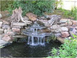 Small Picture Garden Pond And Waterfall Design House Design Ideas