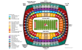 Denver Invesco Field Seating Chart Nfl Stadium Seating Charts Stadiums Of Pro Football