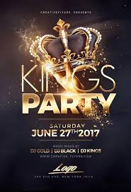 Night Of Kings Flyer Templates Psd