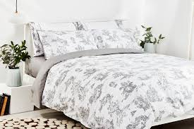 sophisticated french toile bedding of duvet set luxury capricho
