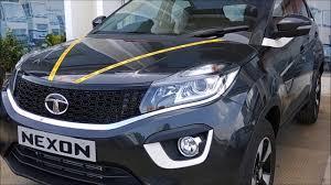 Tata Nexon Launched Petrol 5 85 L 8 59 L Diesel 6 85 L
