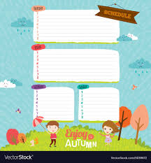School Diary Design Template For School Notebook Diary And Organizers