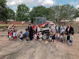 pagtakhan ramgotra kids and daycare staff break ground at garden grove park