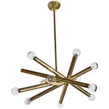 1960u0027s stilnovo ceiling light with 12 lights 1960s fixtures e87