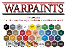 New Army Painter Warpaints Warlord Games