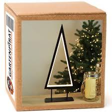 Led Weihnachtsbeleuchtung Tanne 36 Cm Metall Weihnachtsdeko