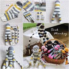 Sock Monkey Pattern Best Wonderful DIY Adorable Sock Monkey