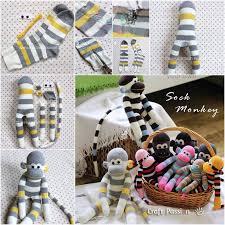 view in gallery sock monkey wonderful diy adorable sock monkey