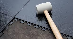 do garage floor tiles make noise