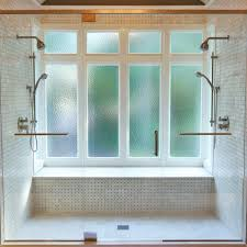 powder springs master bathtransitional bathroom atlanta double shower in bay window