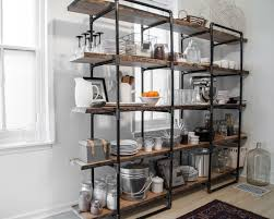industrial pipe and shelving unit