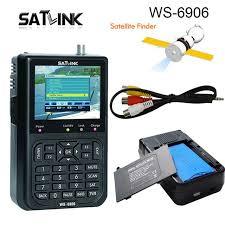 Hot selling <b>Original Satlink</b> WS-6906 DVB-S FTA Digital Satellite ...