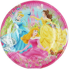 Disney Princess Party Plates - Pack Of 10 | Kids Supplies at The