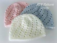 Newborn Crochet Patterns Beauteous Crochet Baby Hats VStitch Newborn Beanie Free Crochet Pattern