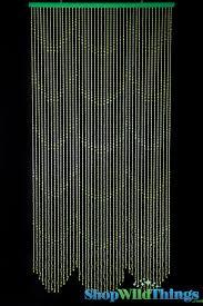 door beads curtain ikea beaded curtain green door