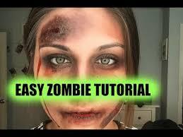 easy zombie makeup tutorial you