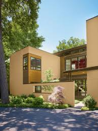 ideas medium size orange wall house colour paint outside combined with unique wooden door can add