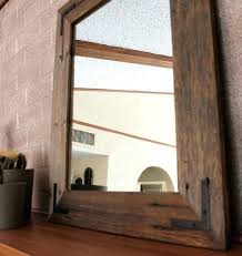 rustic wood framed mirrors pin on mirrors reclaimed wood with rustic wood mirror ideas rustic wooden wall mirrors large rustic wooden framed mirror