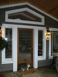 front door with sidelights diy