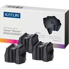 katun solid ink stick 108r00726 solid ink 3400 pages black 3 box