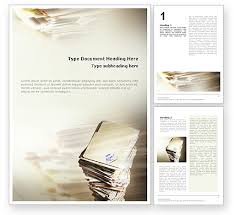 Word Document Template Design Dossier Word Templates Design Download Now