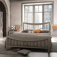 contemporary metal furniture. Modern Metal Canopy Bed Home Interior Furniture Contemporary